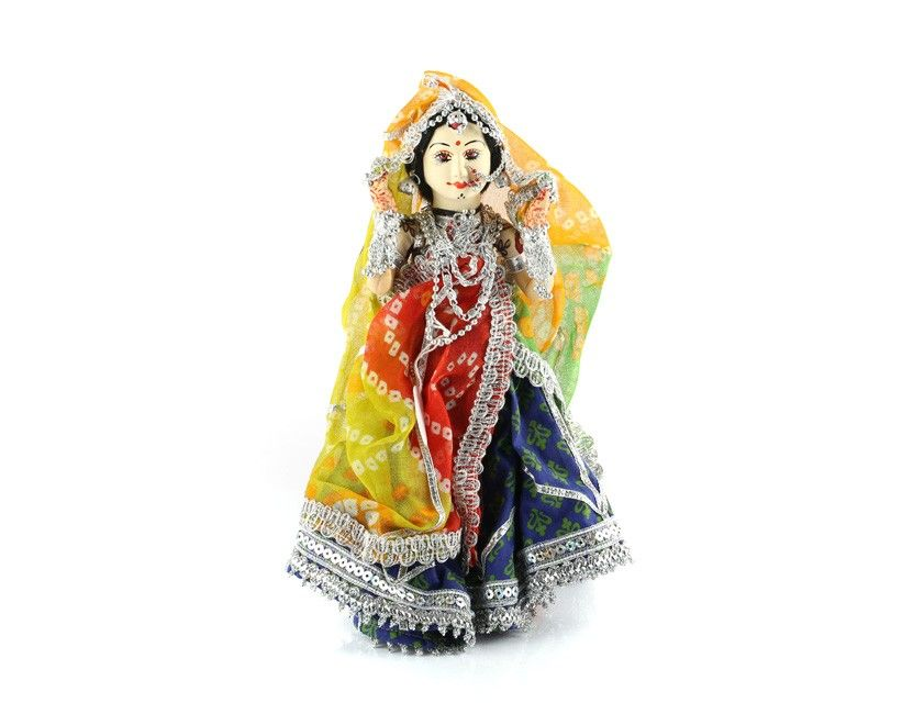 Traditional Indian Bride Doll